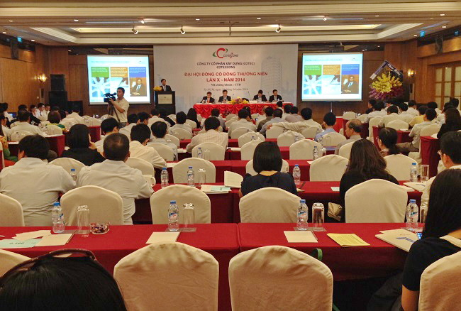 Coteccons holds the 10th Annual General Meeting 2014
